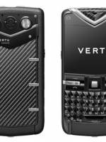 Vertu Constellation Quest Carbon Fibre stainless steel.