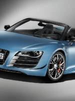 Limited Edition 2012 Audi R8 GT Spyder