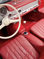 1955 Mercedes-Benz 300SL Alloy Gullwing interior
