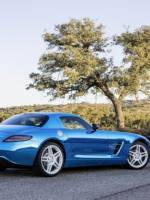 Emission-free Mercedes-Benz SLS AMG Electric Drive