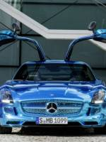 The Electric Mercedes Benz SLS AMG