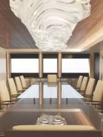 Fraser Yachts Illusion luxury yacht dining area