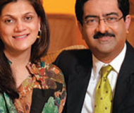 Birla with his partner