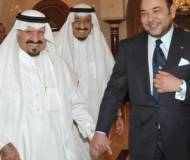 King Mohammed VI with Saudi Crown Prince Sultan Ibn Abdelaziz Al Saud