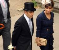 Rowan Atkinson at royal wedding