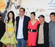 'The Forbidden Kingdom' news conference