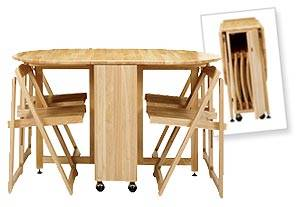 Butterfly Folding Dining Table by John Lewis | Bornrich