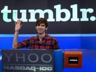 Tumblr Founder to get $81 Million to Stay at Yahoo