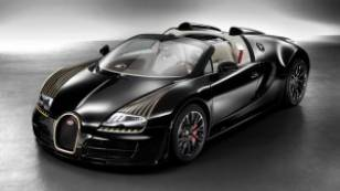 Bugatti rolls out gold trimmed 'Black Bess' Veyron