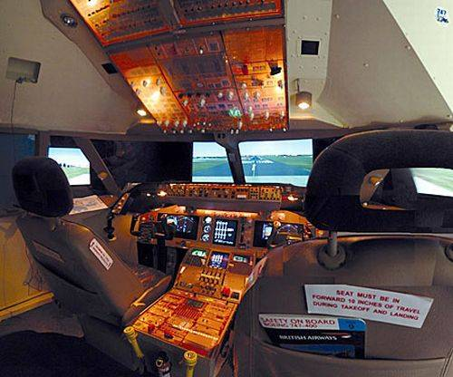 boeing 747 flight simulator
