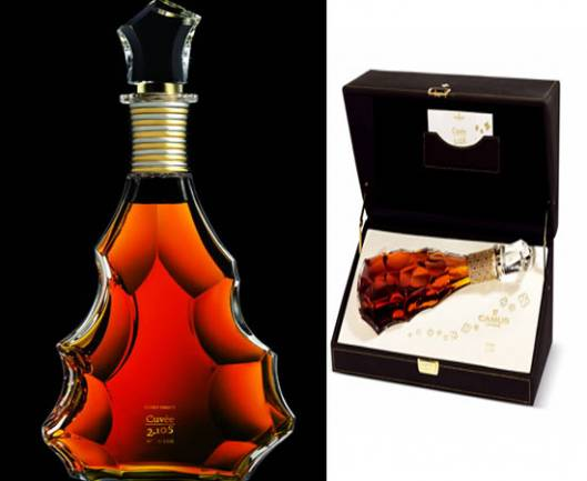 Camus unveils its cognac masterpiece collection in a Baccarat crystal decanter