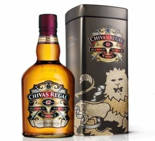 Chivas Regal limited edition gift tin for the upcoming holiday season