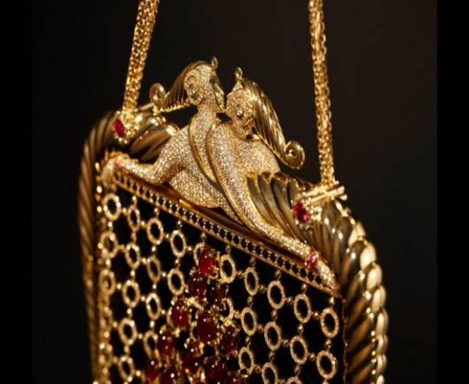 "Stefano Canturi's $780,000 diamond bag inspired by ErtÉ, The ""Father of Art Deco"""