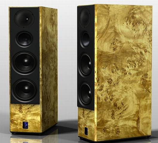Lansche Audio unveils 5.1 floor standing loudspeakers made out of exotic woods