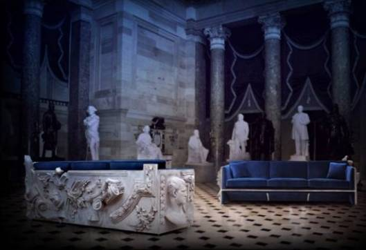 Boca do Lobo Limited Edition Versailles Sofa is inspired by 17th century French furniture