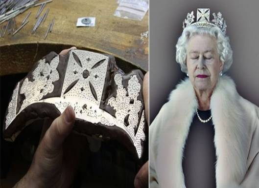Asprey recreates Queen's crown in 3d to mark the Diamond jubilee