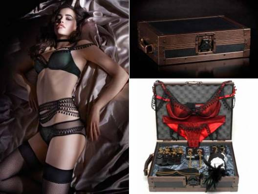 Box of Grey partners with lingerie-makers Myla to create a luxury gift set 'For Myla' with lingerie and sex toy