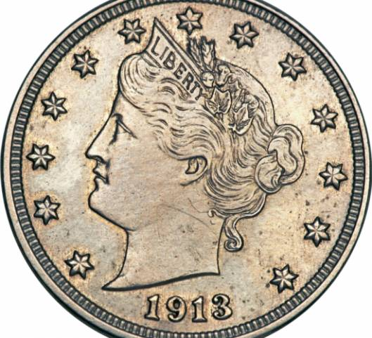 Rare 1913 Liberty Nickel Coin goes up for auction