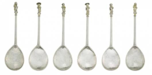 Christie's to auction Benson collection of silver spoons from the 14th and 15th centuries