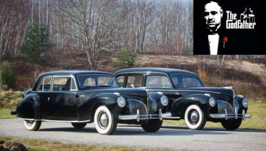1941 Lincoln continental coupé and custom limousine from 'The Godfather' goes for sale