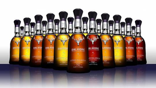 Dalmore Constellation Collection malt whiskys