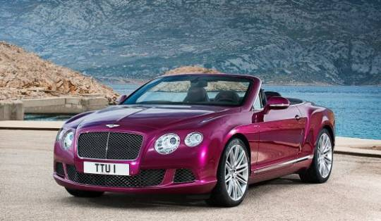 Bentley's World's Fastest Four-Seat Convertible