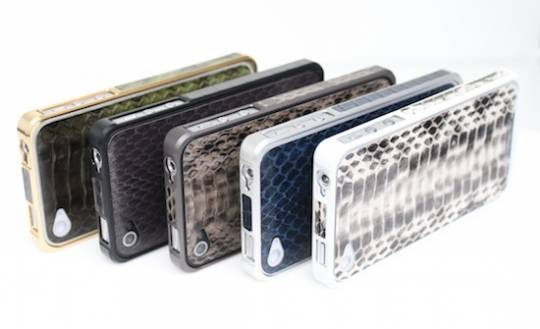 Alloy X leather iPhone cases