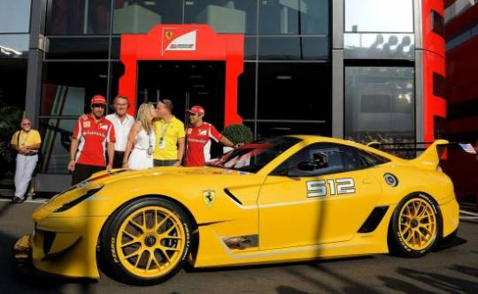 Ferrari 599XX Evo auctioned to Google executive Benjamin Sloss for $1.78 million
