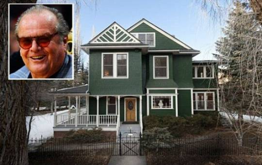 Jack Nicholson's A-List Aspen Mansion