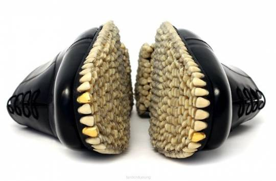 Predator Teeth Shoes
