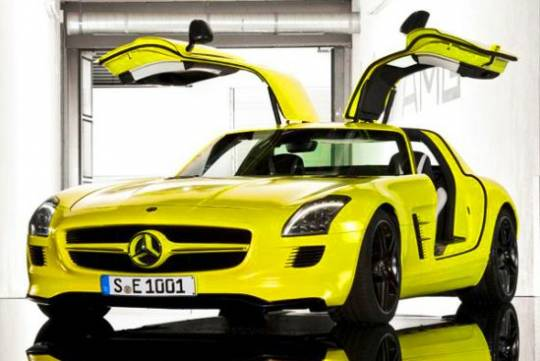 Mercedes-Benz SLS Electric Gullwing E-Cell