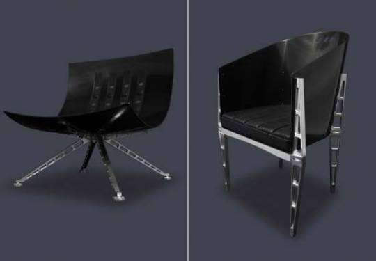 Simon Firullo's Paradisi Furniture is made with technology and materials reserved for NASA and Formula One