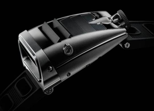 "Unique design of MB&F's fifth ""horological machine"""