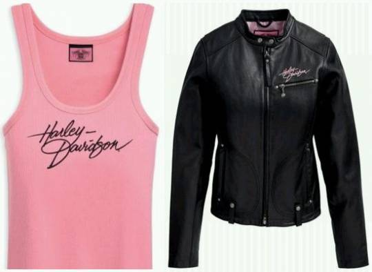 Harley-Davidson launches clothing line for female riders