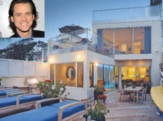 Jim Carrey's Malibu Home