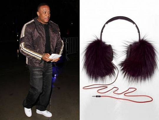 Dr Dre and the special edition Beats headphones
