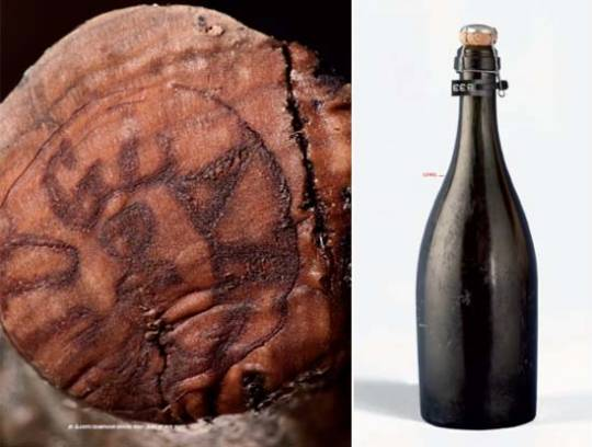 Bottle Champagne Juglar – Archaeological Reference N° C38