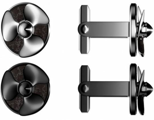 Romain Jerome Titanic DNA cufflinks