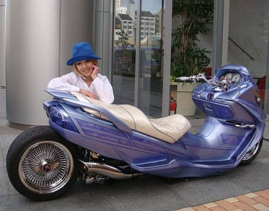 japanese custom scooter 2
