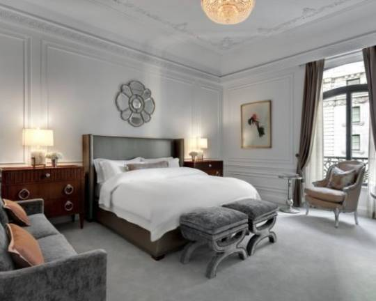 The Dior Suite at the St. Regis New York