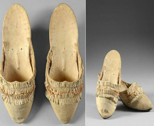Marie Antoinette's  Shoes Sold For $57,000