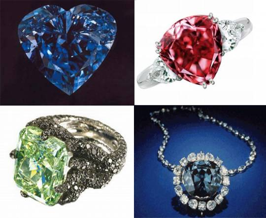 Most expensive colored diamonds