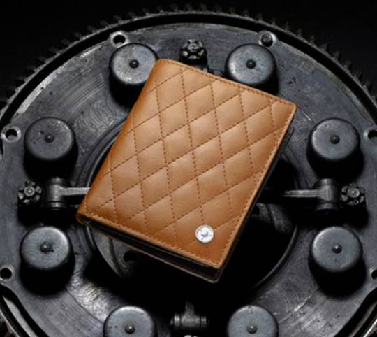 Natural Quilted Leather 250 Ferrari GTO Wallet