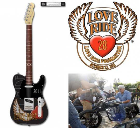Love Ride 28 Fender guitar