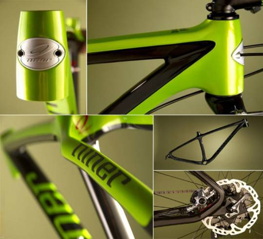 Niner Air 9 limited edition cycle close ups
