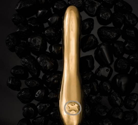 24k gold vibrator by Lelo
