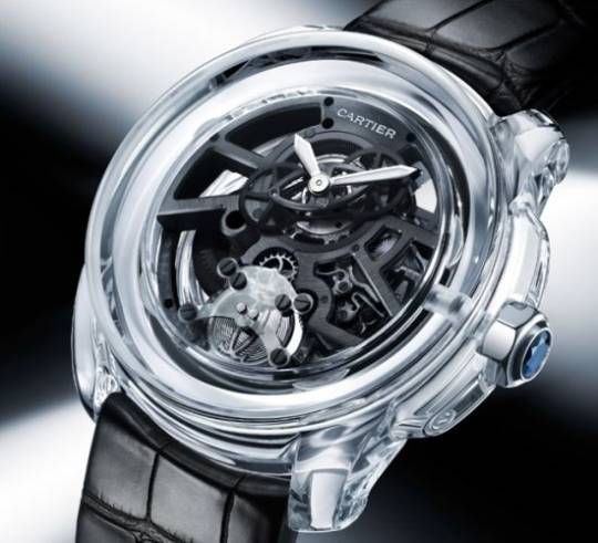 Cartier ID Two Concept watch is the world's first energy efficient timepiece