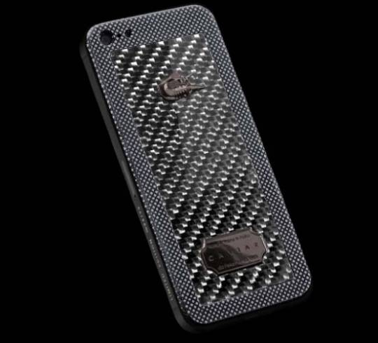 CAVIAR iPhone 5 Titano Diabolo by Elijah Giacometti is created in cooperation with Automobili Lamborghini