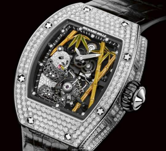 Richard Mille RM 26-01 panda watch for Baselworld 2013