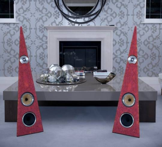 Rinzsound exotic speakers have been made from ethically sourced leather varieties